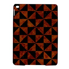 Triangle1 Black Marble & Brown Marble Apple Ipad Air 2 Hardshell Case by trendistuff