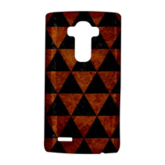 Triangle3 Black Marble & Brown Marble Lg G4 Hardshell Case by trendistuff
