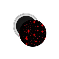 Bright Red Stars In Space 1 75  Magnets