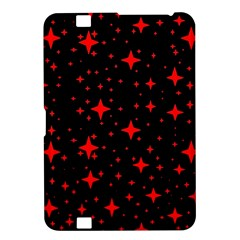 Bright Red Stars In Space Kindle Fire Hd 8 9