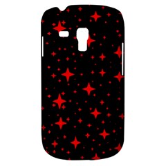 Bright Red Stars In Space Galaxy S3 Mini by Costasonlineshop