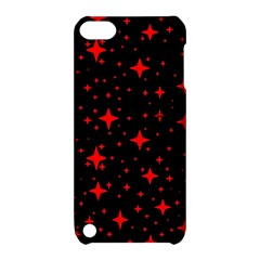 Bright Red Stars In Space Apple Ipod Touch 5 Hardshell Case With Stand