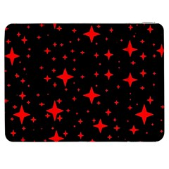 Bright Red Stars In Space Samsung Galaxy Tab 7  P1000 Flip Case