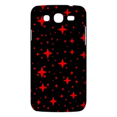 Bright Red Stars In Space Samsung Galaxy Mega 5 8 I9152 Hardshell Case  by Costasonlineshop