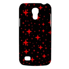 Bright Red Stars In Space Galaxy S4 Mini by Costasonlineshop
