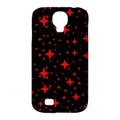 Bright Red Stars In Space Samsung Galaxy S4 Classic Hardshell Case (pc+silicone) by Costasonlineshop