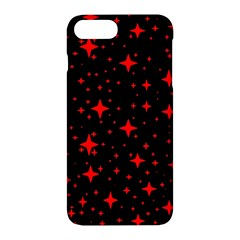 Bright Red Stars In Space Apple Iphone 7 Plus Hardshell Case