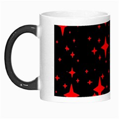 Bright Red Stars In Space Morph Mugs by Costasonlineshop