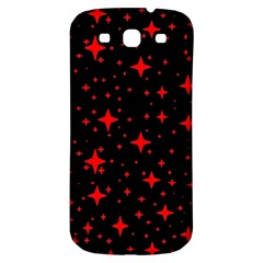 Bright Red Stars In Space Samsung Galaxy S3 S Iii Classic Hardshell Back Case