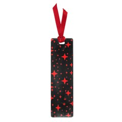 Bright Red Stars In Space Small Book Marks by Costasonlineshop