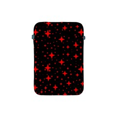 Bright Red Stars In Space Apple Ipad Mini Protective Soft Cases