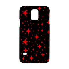 Bright Red Stars In Space Samsung Galaxy S5 Hardshell Case