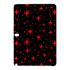 Bright Red Stars In Space Samsung Galaxy Tab Pro 10 1 Hardshell Case by Costasonlineshop