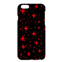 Bright Red Stars In Space Apple Iphone 6 Plus/6s Plus Hardshell Case