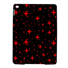 Bright Red Stars In Space Ipad Air 2 Hardshell Cases by Costasonlineshop