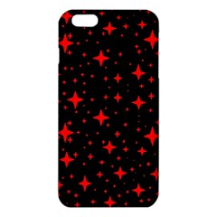 Bright Red Stars In Space Iphone 6 Plus/6s Plus Tpu Case by Costasonlineshop