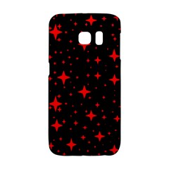 Bright Red Stars In Space Galaxy S6 Edge