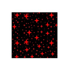 Bright Red Stars In Space Satin Bandana Scarf by Costasonlineshop
