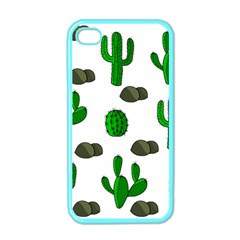 Cactuses 3 Apple Iphone 4 Case (color) by Valentinaart