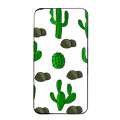 Cactuses 3 Apple Iphone 4/4s Seamless Case (black) by Valentinaart