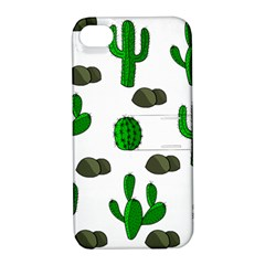 Cactuses 3 Apple Iphone 4/4s Hardshell Case With Stand by Valentinaart