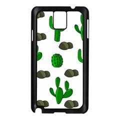 Cactuses 3 Samsung Galaxy Note 3 N9005 Case (black) by Valentinaart