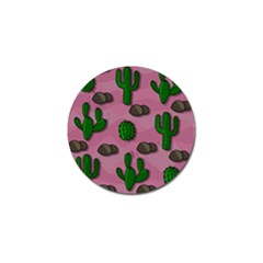 Cactuses 2 Golf Ball Marker by Valentinaart