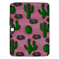 Cactuses 2 Samsung Galaxy Tab 3 (10 1 ) P5200 Hardshell Case  by Valentinaart