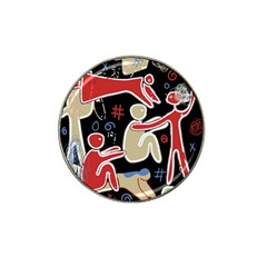 Family Hat Clip Ball Marker by Valentinaart