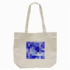 Pixie Blue Tote Bag (cream) by designsbyamerianna