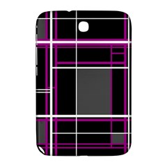 Simple Magenta Lines Samsung Galaxy Note 8 0 N5100 Hardshell Case  by Valentinaart