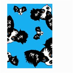 Cute Face Dog Funny Detective Large Garden Flag (Two Sides) by AnjaniArt