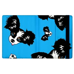 Cute Face Dog Funny Detective Apple Ipad 3/4 Flip Case by AnjaniArt