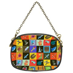 Equipment Work Chain Purses (one Side)  by AnjaniArt