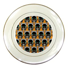 Cute Panda Porcelain Plates by AnjaniArt