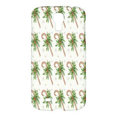 Candy Cane Printable Samsung Galaxy S4 I9500/i9505 Hardshell Case by AnjaniArt