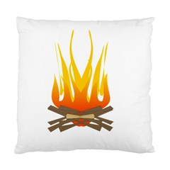 Fire Standard Cushion Case (two Sides) by AnjaniArt