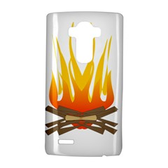 Fire Lg G4 Hardshell Case by AnjaniArt