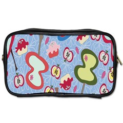Fruit Apple Toiletries Bags 2 Side by AnjaniArt