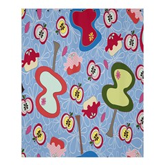 Fruit Apple Shower Curtain 60  X 72  (medium)  by AnjaniArt