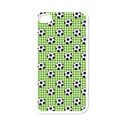 Green Ball Apple Iphone 4 Case (white) by AnjaniArt