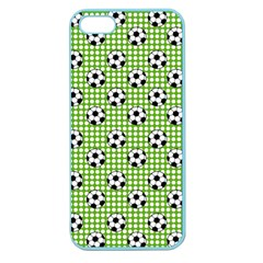 Green Ball Apple Seamless Iphone 5 Case (color) by AnjaniArt