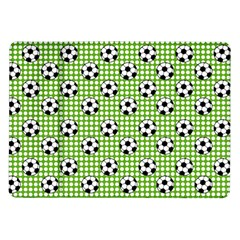 Green Ball Samsung Galaxy Tab 10 1  P7500 Flip Case by AnjaniArt