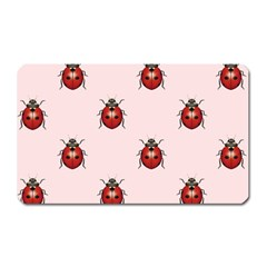 Insect Animals Cute Magnet (rectangular)