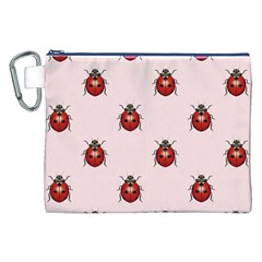 Insect Animals Cute Canvas Cosmetic Bag (xxl) by AnjaniArt