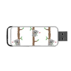 Koala Pattern Portable Usb Flash (one Side) by AnjaniArt