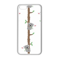 Koala Pattern Apple Iphone 5c Seamless Case (white) by AnjaniArt