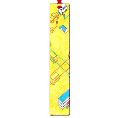 Highway Town Large Book Marks by AnjaniArt