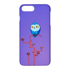 Owl Spider Apple Iphone 7 Plus Hardshell Case by AnjaniArt