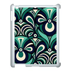 Missoni Spring Summer Apple Ipad 3/4 Case (white) by AnjaniArt